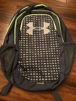 Under Armour Scrimmage Backpack 2.0, Wire (073)/Lime Light, One Size Fits All