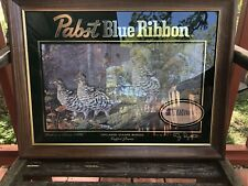 Pabst Blue Ribbon Beer Upland Game Birds Ruffed Grouse 1St In Series 1996 Print