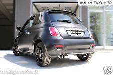 TERMINALE DI SCARICO SPORTIVO INOXCAR Fiat 500 1.2 (69cv) Restyling 09/2013