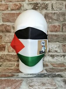 Palestine Flag FACE COVERING New & Sealed - Free Gaza Palestinian Freedom