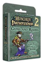 Munchkin Pathfinder 2 Guns And Razzes Expansion Card Game Steve Jackson SJG 4425
