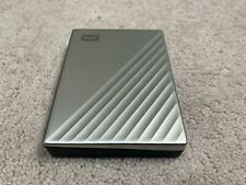 WD 4TB My Passport Ultra for Mac Silver Portable HDD External Hard Drive w/Case