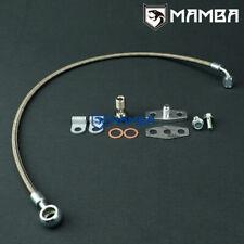 Mamba Turbo Oil Feed Line Kit Mercedes Benz 8185 W123 300d Om617 Garrett Tb03