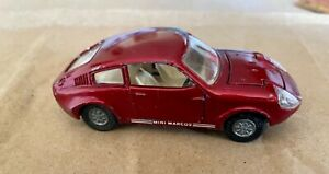 Corgi Mini Marcos GT850, Golden Jacks wheel change, original unrestored, 1968