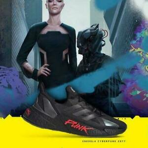 adidas originals X9000L4 CYBERPUNK 2077 Running Shoes Core black & red FZ3091 JP