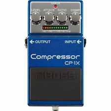 NEW BOSS CP-1X COMPRESSOR ELECTRIC GUITAR EFFECT PEDAL