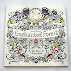 Original Enchanted Forest Inky Quest & Adult Coloring Book by Johanna Basford