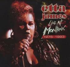 Etta James-Live at Montreux 1975-93 CD NEUF + dans son emballage d'!