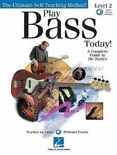 Play Bass Today! - Level 2: A Complete Guide to the Basics Book & Online Audio (