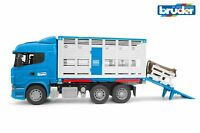 Scania R-Series Cattle Transporter Truck - Bruder 03549 Scale 1:16 NEW