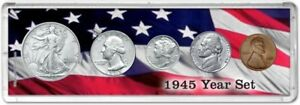 Year Coin Gift Set, 1945