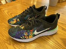 Nike Odyssey React TROPICAL PRINT running shoes Men's SIZE 9