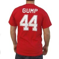 Forrest Gump #44 Alabama Football Jersey T-Shirt Movie Costume Forest College