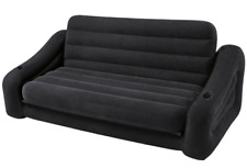 Inflatable Sofa Bed Double Camping Air Mattress Airbed Lounger Couch Intex Chair