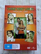Friday Night Lights : Season 1-3 (DVD,14-Disc Box Set) R:2+4 VERY GOOD FREE POST