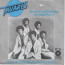 7inch TAVARES heaven must be missing an angel HOLLAND 1976 EX  (S1205)