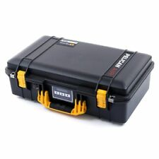 Black & Yellow Pelican 1525 Air case With Foam.
