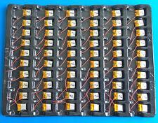 100 pcs 3.7V 40mAh Li Po Battery for MP3 MP4 DVD GPS Headphone Recorder 401215