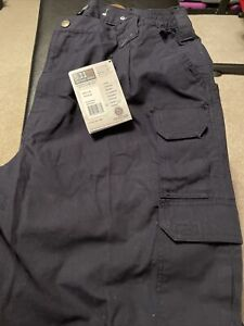 5.11 TACTICAL SERIES NAVY BLUE COMPANY CARGO PANTS / TROUSERS 42X34  NWT