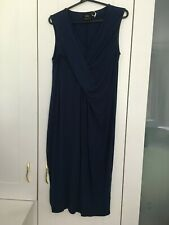 ASOS maternity pregnancy long blue dress size UK 14