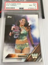 Eve Torres 2016 Topps Wwe #63 Card Psa 8
