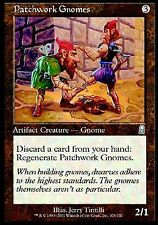 Patchwork Gnomes X4 EX/NM Odyssey MTG Magic Cards Artifact Uncommon