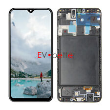 CA For Samsung Galaxy A20 Boost Mobile SM-A205U LCD Touch Screen Digitizer+Frame
