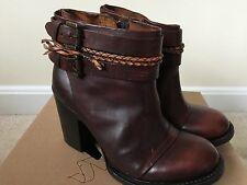New NWB Womens Freebird By Steven Lion Ankle Zip Boots Sz 8