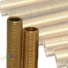 1 Stück Gewinderohr rein Messing M10x1 M10x1x100 Länge = 100mm Röhrchen