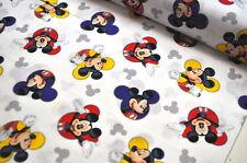 DISNEY Mickey Mouse USA Designerstoff  0,5 m MAUS COMIC SELTEN MAUS RETRO