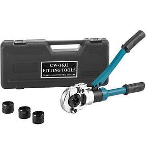 6T Hydraulisch Verbundrohr Presszange Rohrpresszange TH16-32mm Presswerkzeug