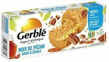 Gerblé - Biscuit Noix Pécan Sirop Dérable 132G - Lot De 4