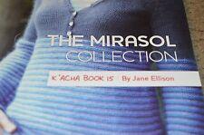 MIRASOL COLLECTION knitting yarn pattern book 15 K Acha by Jane Ellison