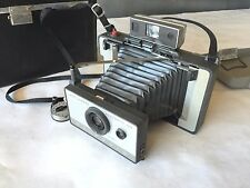 Vintage Polaroid LAND CAMERA Model 103 with Leather Case & Timer