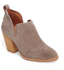 Jeffrey Campbell 'Rosalee' Ankle Bootie Taupe Suede SZ 9.5M