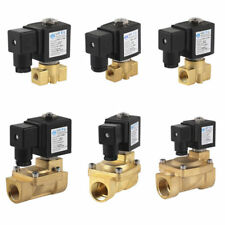 Top 2Wege 1/8-1 Zoll Magnetventil Messing 230V/DC12V/24V NC/NO für Wasser Luft