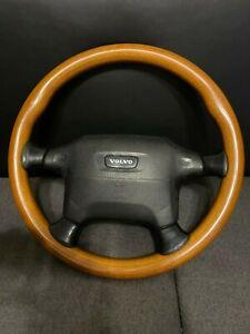 Wooden steering wheel for VOLVO 850/850T5R/850R/740/760/V70/S70/V90/S90