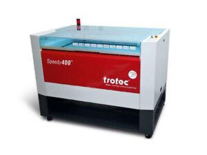 Trotec Speedy 400 Laser Engraver 80 watt  Air Assist Cut Grid & Lamellas holder
