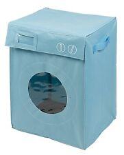 Panier à linge  '' Lave Linge / Machine à laver  ''  Bleu   Corbeille Sac Bac