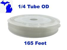 1/4 in OD Clear  PU Polyurethane Air Tubing Pneumatic Pipe Tube Hose 50 meters