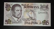 Botswana 5 Pula 1992 UNC