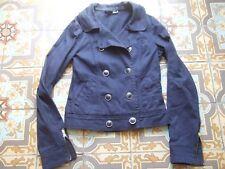 Veste légère H&M t 36 bleu marine