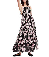 Free People Garden Party Maxi Dress Tiered Floral Boho Sz XS,S NWT$128 OB580623