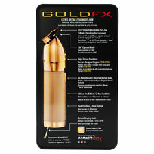 Babyliss Pro GoldFX skeleton outline lithium hair trimmer- gold FX - BabylissPro