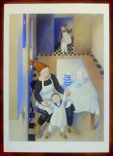 MARTA CZOK serigrafia 'FORTUNA DI BAMBINI' (rif 12a)