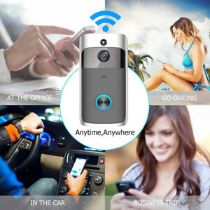 1080P Smart WIFI Wireless Video Intercom IR Phone Camera Security Home Doorbell
