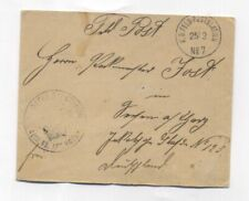 Germany MILITARY MAIL No.7 IN China OSTASIATISCHE EXPED. KORP COVER 1901
