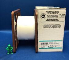 "Panduit H200X064H1T Mil Grade 1-Sided Heat Shrink Labels 2"" x .38"" Roll of 500"