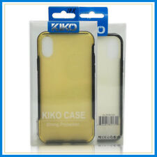 KIKO Strong Protection Ultra-Slim Shiny Back Bumper Case Cover iPhone X/XS Gold