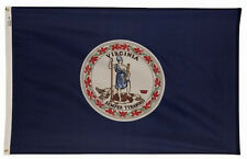 COMMONWEALTH OF VIRGINIA Old Dominion OFFICIAL STATE FLAG 3x5 ft Nylon USA Made